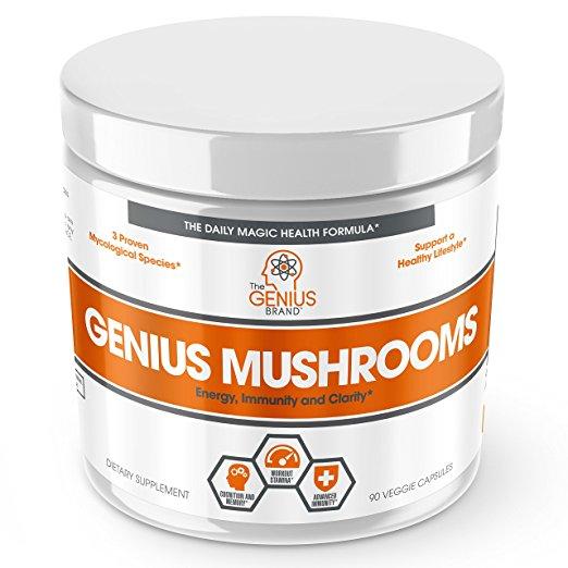 Genius Mushroom Immune System Booster