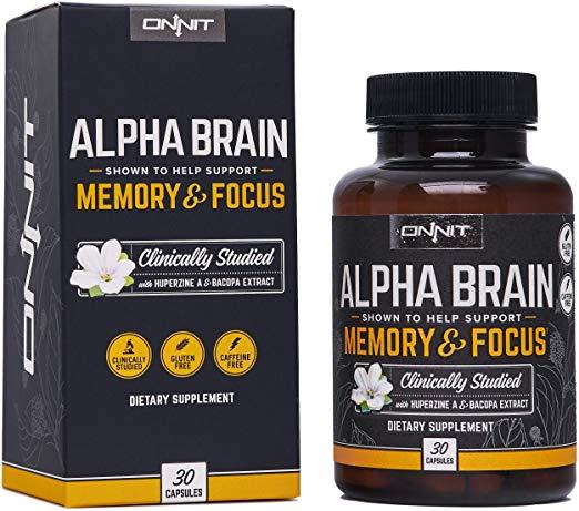 Onnit Alpha Brain Memory & Focus