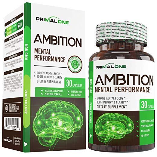 Ambition Nootropic Brain Booster Supplement